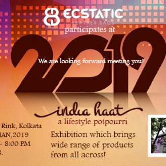 You are cordially invited at  India Haat, a lifestyle potpourri. Exhibition which brings wide range of products from all across!