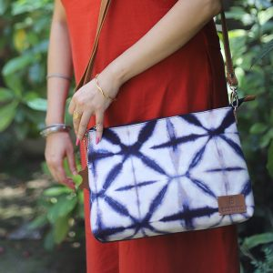 Cotton Tie-n-Dye Sling Bag