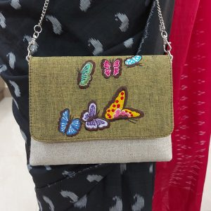 Embroidery Clutch (Butterfly)